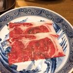 麺匠の心つくし つるとんたん - 牛しゃぶ肉