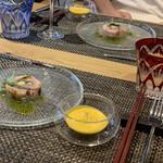 Daikanyamaregare - 前菜とスープ