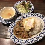 ガムランディー - バイカパオセット830円