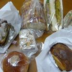 サクラベーカリー - こうにゅうしたパンたち