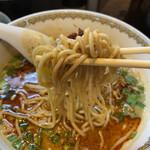 雲林坊 - 担々麺の中細ストレート