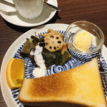 モンゼンコーヒー - 料理写真:ドリンク代のみのモーニング(2021.01/現在)