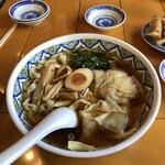 143809062 - 正油ワンタン麺