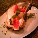トラットリア360° - 岩牡蠣のマリネ バジルソース
