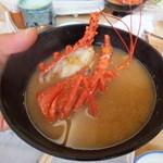 14381556 - 2012年8月:+200円で伊勢海老のお味噌汁にしてくださいます
