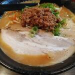 麺工房いなせ - 料理写真:味噌ラーメン こってり