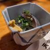 天史朗寿司 - 料理写真:お通し(〆ウルメイワシ)