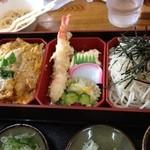 北のそば和佳亭 - カツ丼定食(茶碗蒸し無)