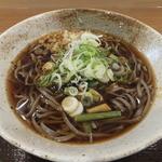 かきあげ蕎麦 酒井 - 山菜そば¥450
