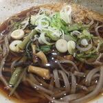 かきあげ蕎麦 酒井 - 山菜そばCloseUp