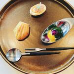 ラ・カシェット - 料理写真:綺麗なオードブル