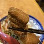 口福館 - 豚角煮