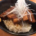 らーめん専門 うしおととり - 限定の角煮丼