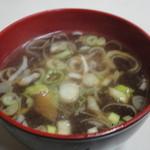 上海軒 - スープもつきます