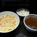 ラーメン純風殿 - カレ-つけめん(甘口)