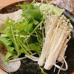 Chicken Meets Shark とよみつ - 野菜盛り合わせ