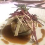 レストランパフューム - ホタテの穴子巻き