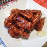 香港厨房 - カニ炒め(殻ごと)