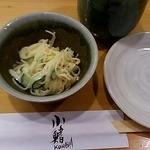 すし処 小鰭 - ランチのサラダ 2012/07