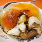 白龍 - 焼豚玉子飯の小サイズ