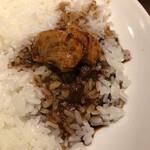 デリー - 料理写真:カシミール カレー(1,020円)オンザライス