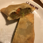 デリー - 料理写真:サモサの中身