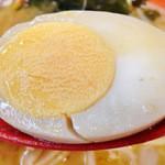 特製炙りラーメン ほてい家 - ゆで卵