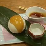 和食バル 音音 - もっちり笹餅豆腐