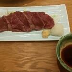 和食バル 音音 - 桜肉のたたき