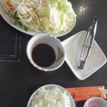 遠野ジンギスカン羊丸・道 - 料理写真:シンプルセット \1320