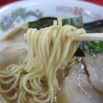 江戸金 - 麺アップ