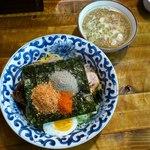 14387865 - お魚つけ麺(800円)です。