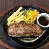 あまぎ - 料理写真:ステーキハンバーグ