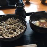 そば小舎 - 鴨つけ蕎麦(1300円)