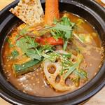 北海道スープカレー専門店 雪道 - 【2021/1】オリジナルスープ、辛さ5