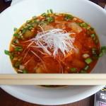 ラグタイム - 2012年8月訪問時:勝浦担担麺(\750)