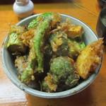 14388367 - 野菜天丼 1100円