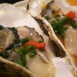 栄寿し総本店 - 牡蠣