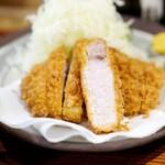 とんかつ けい太 - 料理写真:上ロース膳2400円