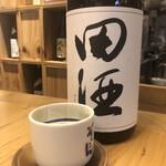 ぬる燗 ぞっこん 離れ - 田酒 特別純米♪