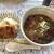 ねこや食堂 - 料理写真:カツカレーうどんとドンコフライ(900円+100円)