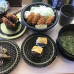 はま寿司 - これでカキフライ定食781円(2020.12.7)