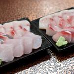川かみ鮮魚 - せんべろの刺身2人分