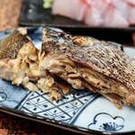 川かみ鮮魚 - アラ焼き