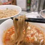 Tsukemenichimaruni - 麺に良く絡みます