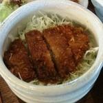 三月九日青春食堂 - ミニソースかつ丼