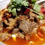 四季香 - 羊肉水煮。