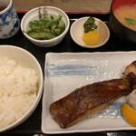朔朔 - 黒ムツの柚香焼き