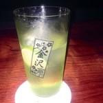 中村堂 - 酢橘を使った中村堂ハイボール