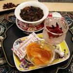 花咲み荼 - 薔薇茶のセット
